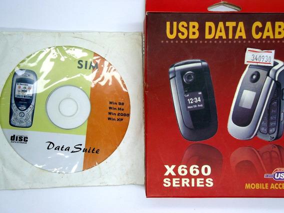 Cd De Instalação De Drivers X660 Data Suite Cd Novo