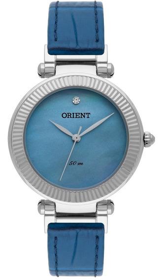 Relógio Orient Feminino Analógico Azul Fbsc0008 G1dx