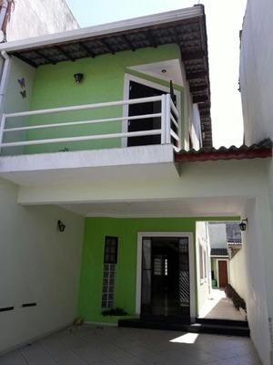 Sobrado Residencial À Venda, Jardim Bom Clima, Guarulhos. - So0063