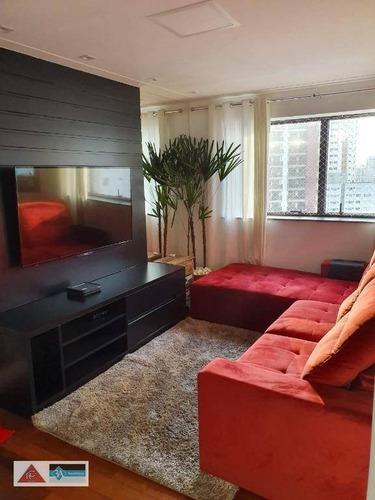 Imagem 1 de 25 de Apartamento Com 3 Dormitórios À Venda, 110 M² Por R$ 790.000 - Jardim Anália Franco - São Paulo/sp - Ap6007