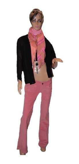 47 Street Pantalon De Corderoy Color Color Rosa Oxford