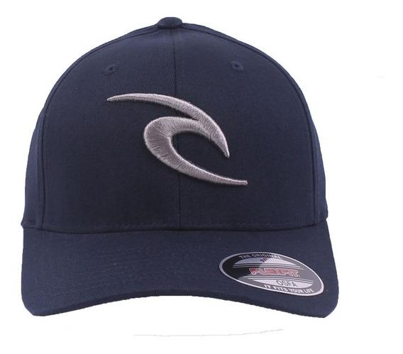Gorra Rip Curl Modelo Icon Flexfit Azul Nueva Coleccion