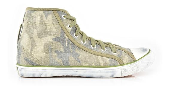 Tenis Urbanos Para Hombre Lob Footwear 902-9523 Verde Oscuro Nuevo Oi19