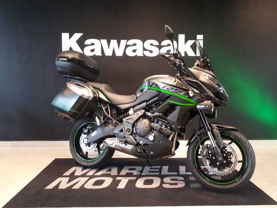 Kawasaki - Versys 650 Tourer 2019 - Baixo Km - Linda - Jaque