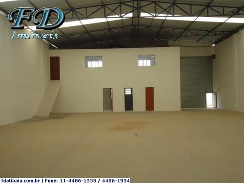 Imagem 1 de 15 de Galpões Industriais À Venda  Em Mairiporã/sp - Compre O Seu Galpões Industriais Aqui! - 820589