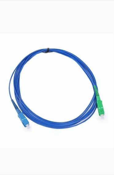 Cordão Óptico Sc/apc Sc/upc Single Mode Simplex 3.0m 2m