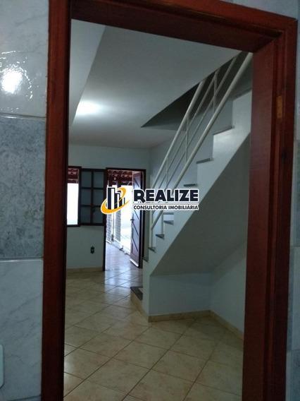 Imperdível = Casa 02 Qts Sala Ampla Com Móveis Nascente 02 V - 378