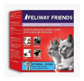 Combo 5 Feliway Friends Difusor + Refil 48ml