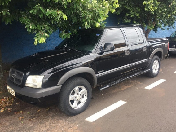 Chevrolet Gm S10 Advantage 2.4 Preto 2007