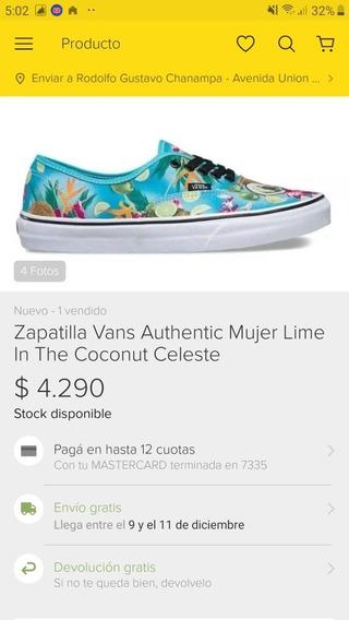 Zapatillas Vans Originales En Caja