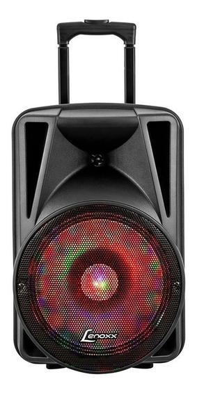 Caixa De Som Amplificadora Lenoxx Áudio Ca340