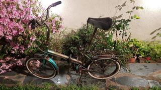 Bicicleta Leganano Rodado 16 Italiana - Plegable