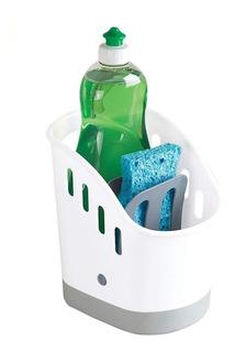 Organizador Cocina Esponja Detergente Mesada Base Silicona