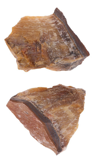 2pcs Cristais Naturais Raw Espécime Mineral, Cristal Pedra P
