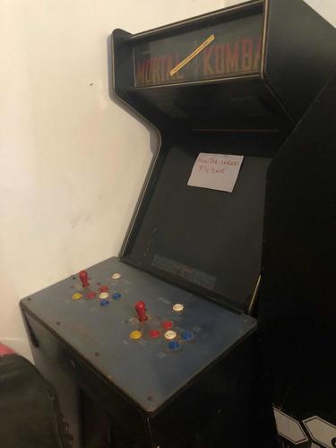 Maquina De Video Juego, Arcade, Usada.