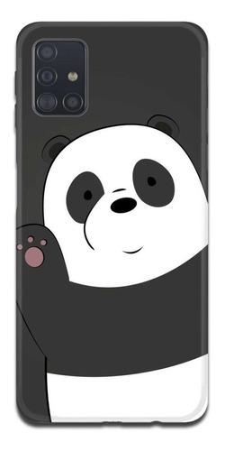 Imagen 1 de 10 de Funda Samsung A31 A21s A11 Escandalosos Bare Bears Panda