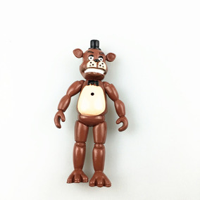 5 Bonecos Five Night Freddy Kit Fnaf Brinquedo Game Jogo Top