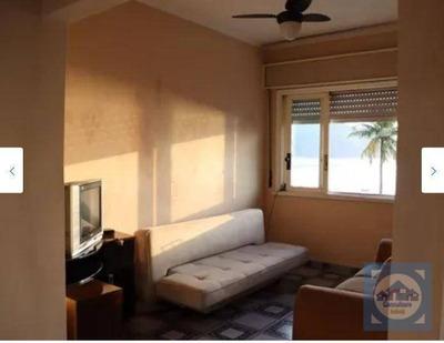 Apartamento Com 1 Dormitório À Venda, 42 M² Por R$ 211.000 - Ponta Da Praia - Santos/sp - Ap3857