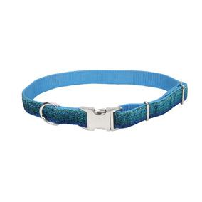 Collares Para Perro Brillante Azul Collar Medium 5/8 Coasta
