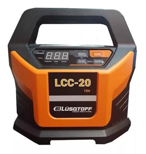 Imagen 1 de 3 de Cargador De Batería 12 V Auto Lcc-20 Luqstoff