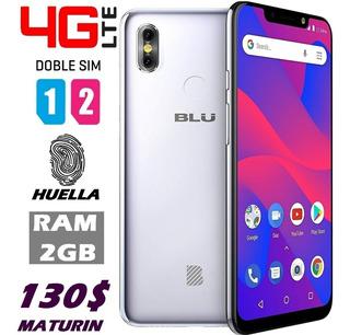 Blu R2 Plus 2019 *130v* 4g Dual Sim Huella 16gb Forro Tienda