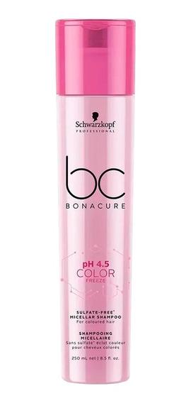 Shampoo Schwarzkopf Color Freeze Sin Sulfato Cabello Teñido