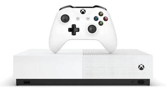 Xbox One S All Digital 1tb Novo Lacrado Sem Drive