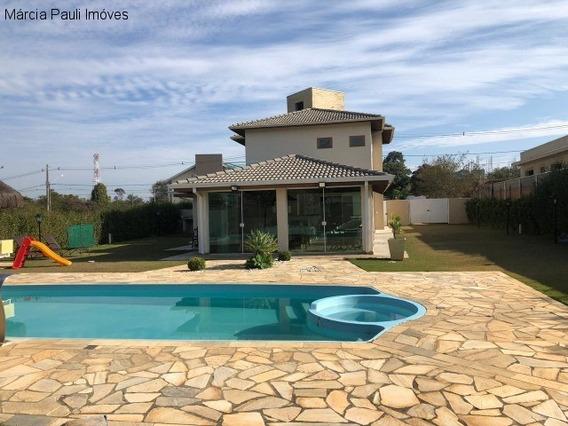 Casa No Condomínio Haras Pindorama - Jacaré - Cabreúva - Ca02761 - 34355471
