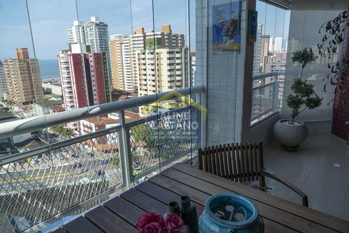 Cobertura, 3 Dorms, Canto Do Forte, R$ 1.25 Mi, - Vnst517