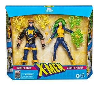 Muñecos Marvel X-men Hasbro E8613 Havok Polaris 15 Cm