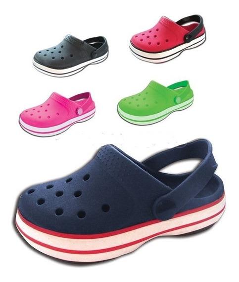 Suecos De Goma - Gomones - Estilo Crocs