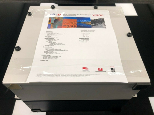 Servidor Bustled Xerox Docucolor 242 252 Integrated Fiery