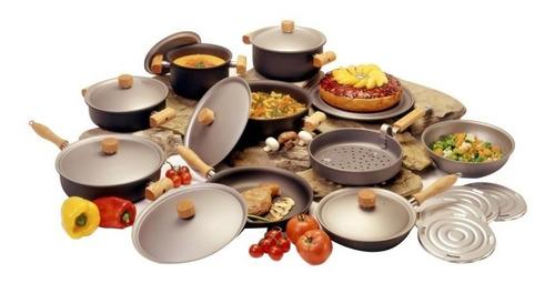 Bateria De Cocina Perdura Linea Classic 22 Piezas