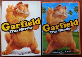 Garfield The Movie (2004) Dvd Orig Imp Z1 Slipcover Insert
