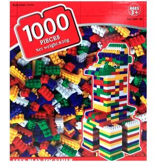 Caja 1000 Bloques De Encastre
