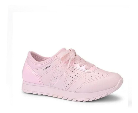 Tênis Feminino Infantil Pink Cats V1251