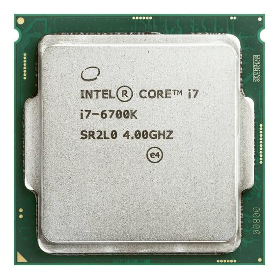 Processador Intel Core I7 6700k 4.2 Ghz Lga 1151 Está 100%