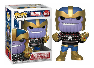 Funko Pop Thanos Holiday 533 Marvel Muñeco Nuevo Original