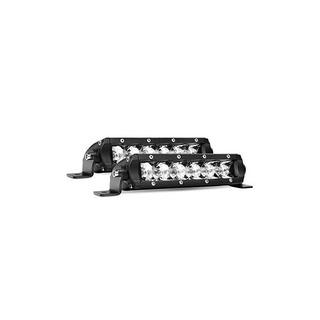 Led Light Bar Nilight Super Slim 2pcs 7 Pulgadas 30w Spot Dr