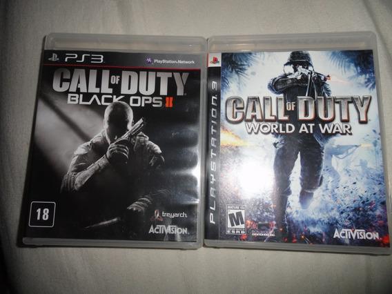 Lote Jogo Ps3 Call Of Duty Original