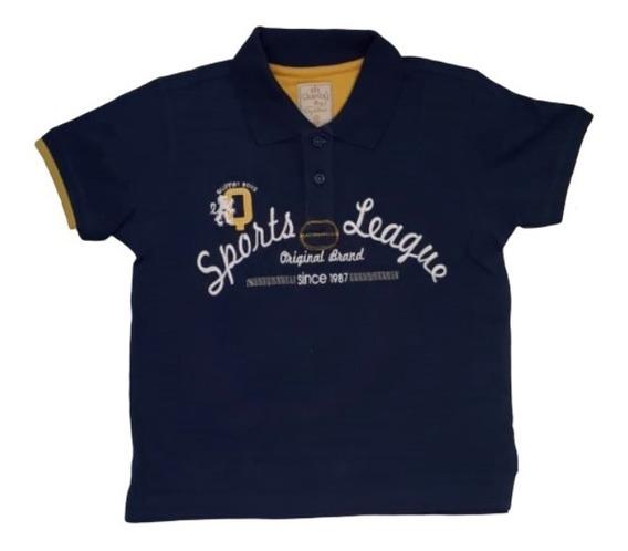 Camisa Polo Masculina Quimby Boys Liga De Esportes