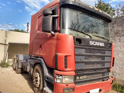 Scania R124 Ga 400 6x2 Ano 2005.