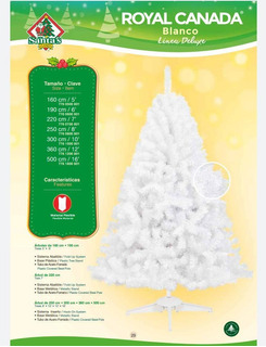 Pino Arbol Royal Canada Blanco 1.90mts