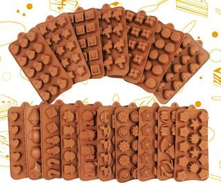 Moldes Chocolate Silicona Flexible - Caramelos - Dulces