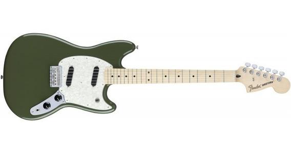 Fender Mustang Offset Series Olive Bundle Mx - Soundgroup