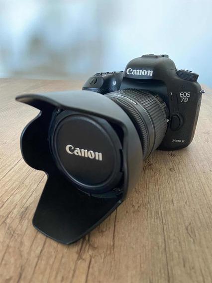 Canon 7d Mark Ii + Lente Canon 18-200 3.5/5.6