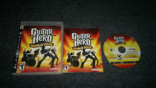 Guitar Hero World Tour Completo Para Play Station 3,checalo