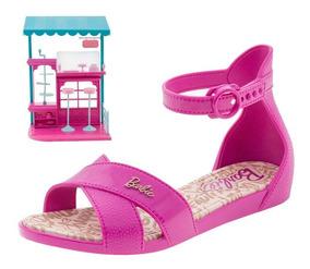 Sandália Tiras Confeitaria Da Barbie - Magazine Marconato