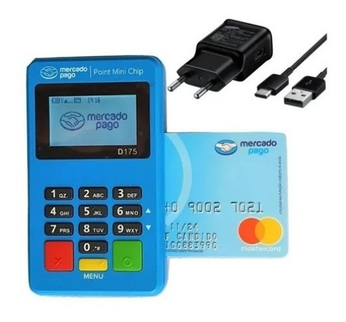 Imagem 1 de 7 de Point Mini Chip Maquinha Não Precisa De Celular Mercado Pago