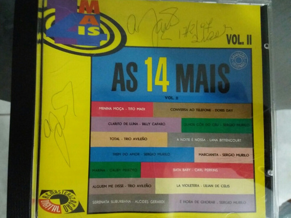 Cd As 14 Mais Vol.2 Envio Por Carta Registrada